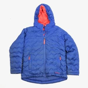 Girls Youth Kinds M 10-12 LL Bean Winter Down Jack